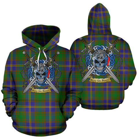 Strange of Balkaskie Tartan Hoodie Celtic Scottish Warrior A79 | Over 500 Tartans | Clothing | Apaprel