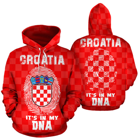 Croatia is Always in My DNA Hoodie | Women and Men | Hrvatska
