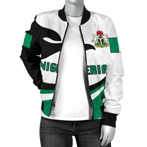Nigeria Women Bomber Jacket Proud Version K4