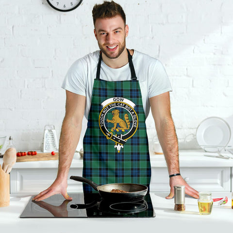 Graham of Menteith Ancient Tartan Clan Crest Apron HJ4
