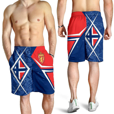 Norway All Over Print Men's Shorts - Norway Legend