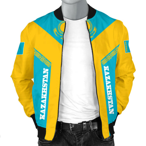 Kazakhstan Bomber Jacket Rising Men A10