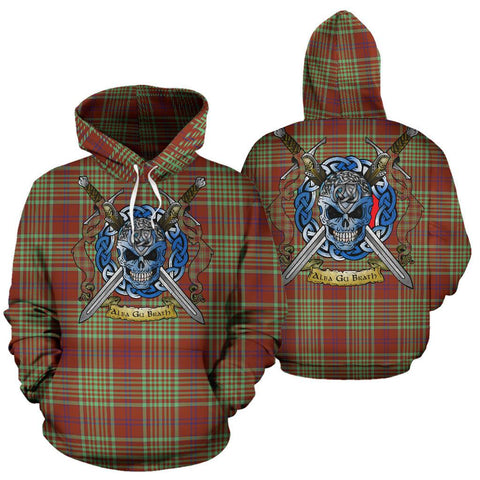 MacGillivray Hunting Ancient Tartan Hoodie Celtic Scottish Warrior A79 | Over 500 Tartans | Clothing | Apaprel