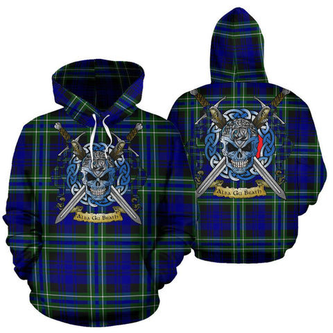 Image of Arbuthnot Modern Tartan Hoodie Celtic Scottish Warrior A79 | Over 500 Tartans | Clothing | Apaprel