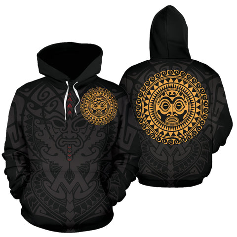 Polynesian Face™ All Over Hoodie 8 A7