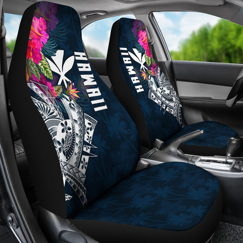 Polynesian Hawaii Car Seat Covers - Summer Vibes