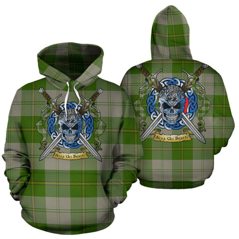 Cunningham Dress Green Dancers Tartan Hoodie Celtic Scottish Warrior A79 | Over 500 Tartans | Clothing | Apaprel