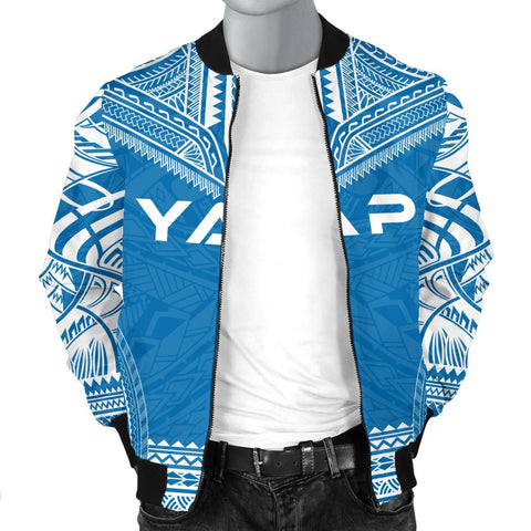 Yap Flag Polynesian Chief Men's Bomber Jacket - Bn10