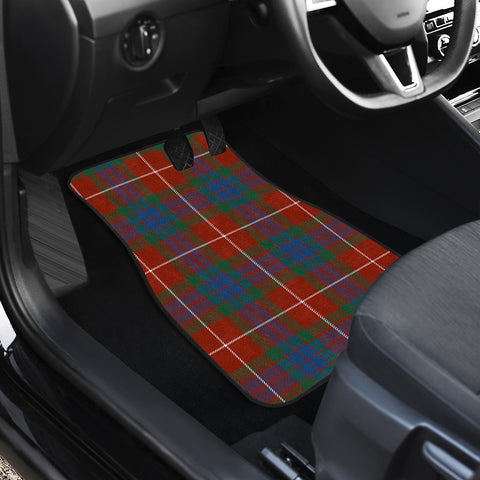 Fraser Ancient Tartan Car Floor Mat 4 Pieces K7