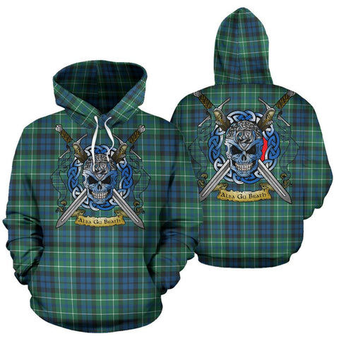 MacNeill of Colonsay Ancient Tartan Hoodie Celtic Scottish Warrior A79 | Over 500 Tartans | Clothing | Apaprel