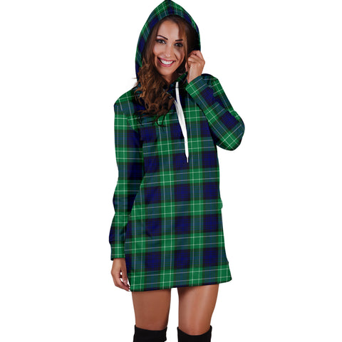 Abercrombie Tartan Hoodie Dress HJ4 |Women's Clothing| 1sttheworld