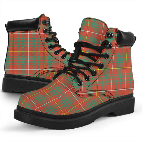 Image of Bruce Ancient  Tartan All-Season Boots HJ4