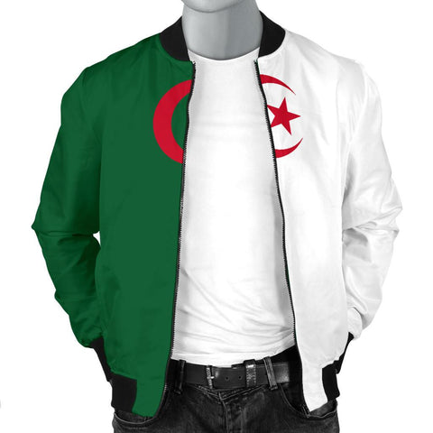 Algeria Men's Bomber Jacket Original Flag A7