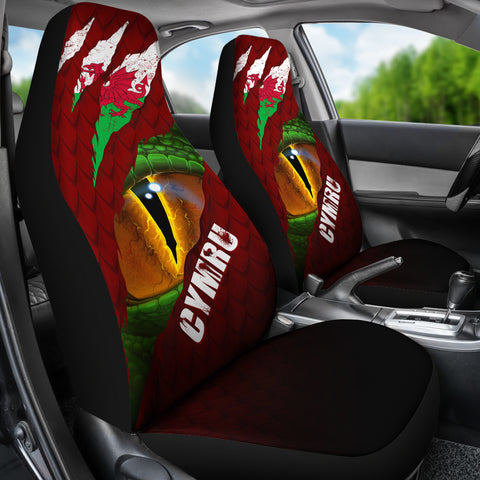 Image of Welsh Car Seat Covers - Dragon Eyes | Love The World