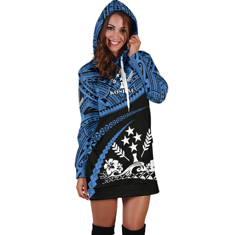 Image of Kosrae Women Hoodie Dress - Road to Hometown K4