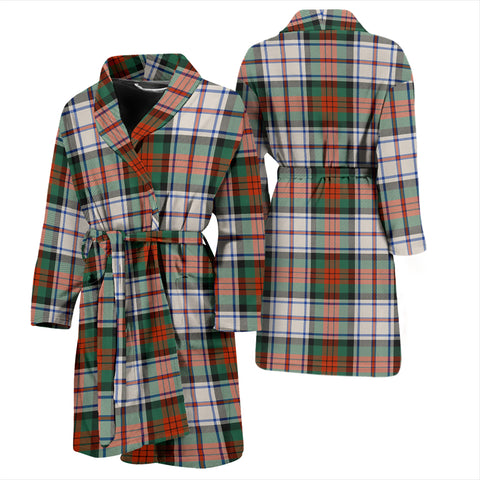 Image of Macduff Dress Ancient Bathrobe - Men Tartan Plaid Bathrobe Universal Fit