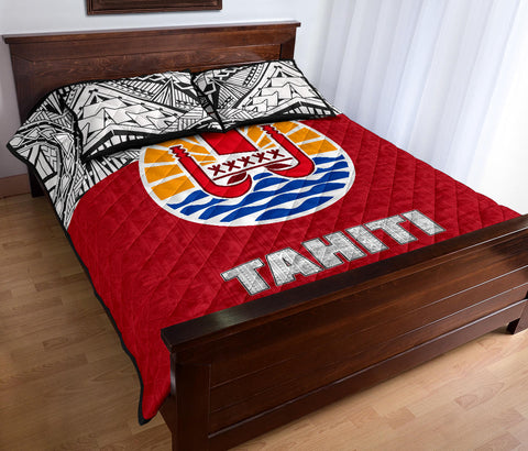 Tahiti Quilt Bed Set - Coat of Arms Version - BN0912