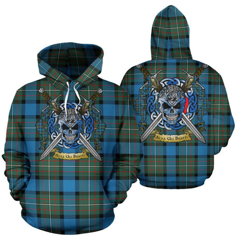 Fergusson Ancient Tartan Hoodie Celtic Scottish Warrior A79 | Over 500 Tartans | Clothing | Apaprel