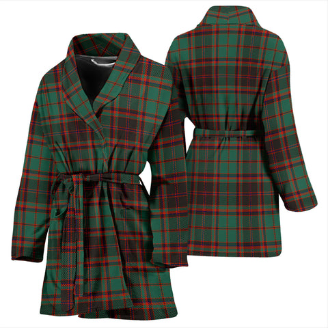 Buchan Ancient Bathrobe - Women Tartan Plaid Bathrobe Universal Fit