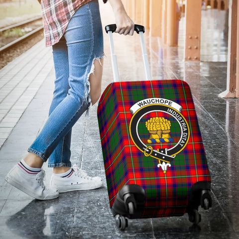 Image of Wauchope Tartan Clan Badge Luggage Cover Hj4 | Love The World
