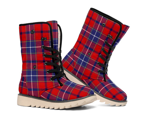 Wishart Dress Tartan Boots
