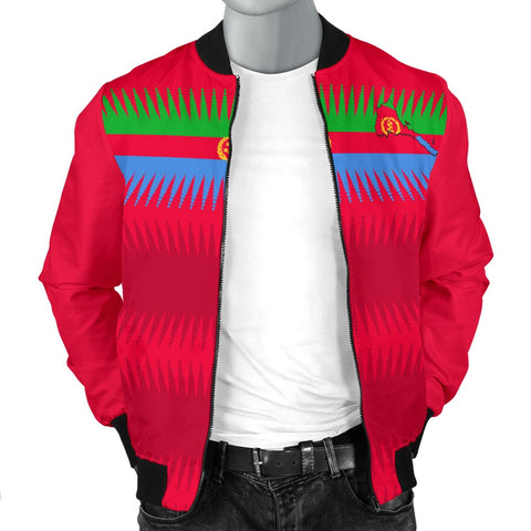 Eritrea United Flag - Red Men's Bomber Jacket A15