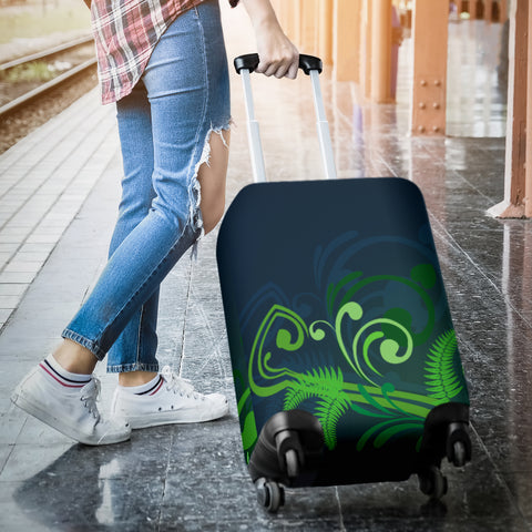 New Zealand Fern Luggage Cover A9 | Love The World