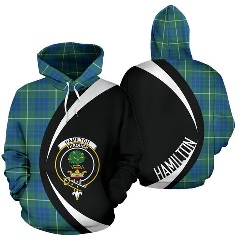 Hamilton Hunting Ancient Tartan Circle Hoodie HJ4