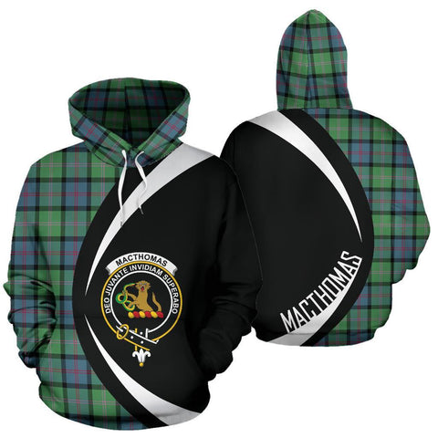 Image of MacThomas Ancient Tartan Circle Hoodie HJ4