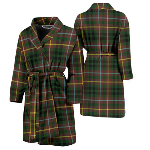 Image of Buchanan Hunting Bathrobe - Men Tartan Plaid Bathrobe Universal Fit