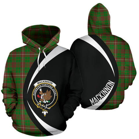Image of MacKinnon Hunting Modern Tartan Circle Hoodie HJ4