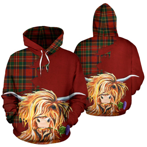 Highland Cow Hoodie