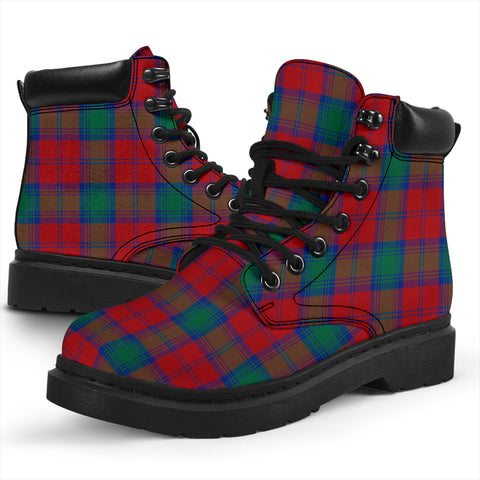 Image of Lindsay Modern  Tartan All-Season Boots HJ4