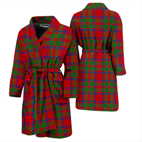 Mackintosh Modern Bathrobe - Men Tartan Plaid Bathrobe Universal Fit