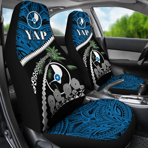 Yap Stone Money Car Seat Covers - Road to Hometown K4