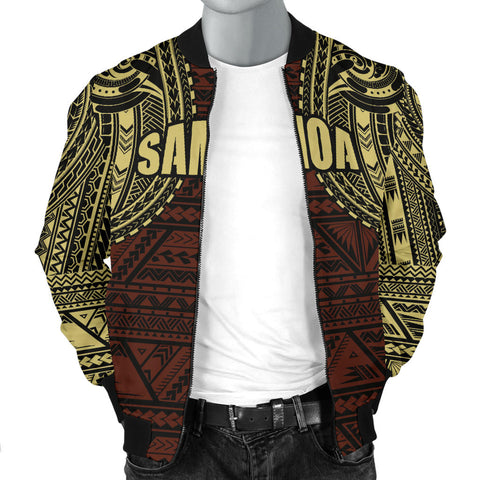 Image of Samoa Bomber Jacket | Men | Polynesian Clothing