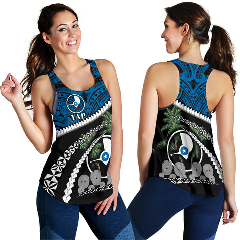 Image of Yap Women Racerback Tank - Road to Hometown K4