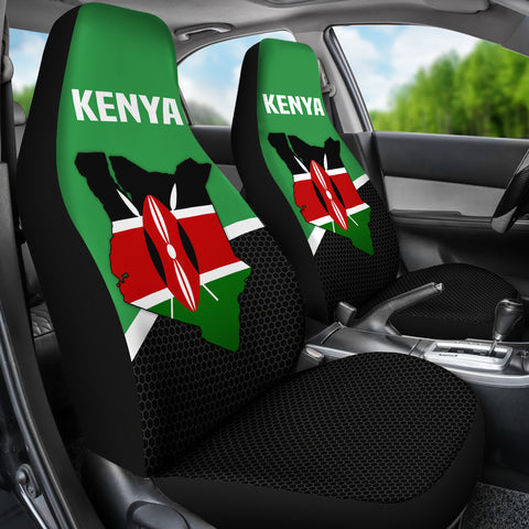 Kenya Map Special Car Seat Covers | High Quality | Hot Sale