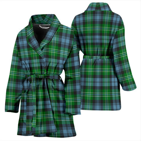 Arbuthnot Ancient Bathrobe - Women Tartan Plaid Bathrobe Universal Fit