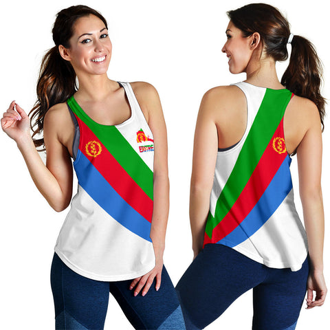 Image of Eritrea Women's Racerback Tank Special Flag A7