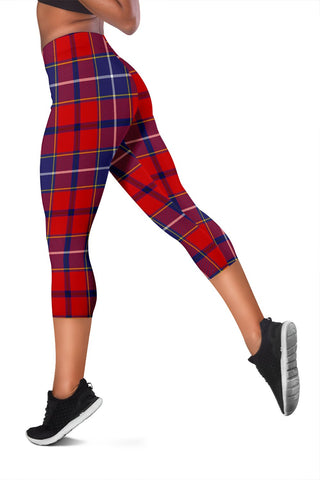 Wishart Dress Tartan Capris Leggings
