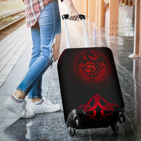 Celtic Luggage Covers - Celtic Dragon
