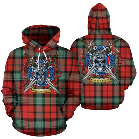 Kerr Ancient Tartan Hoodie Celtic Scottish Warrior A79 | Over 500 Tartans | Clothing | Apaprel