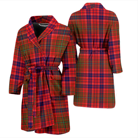 Lumsden Modern Bathrobe - Men Tartan Plaid Bathrobe Universal Fit
