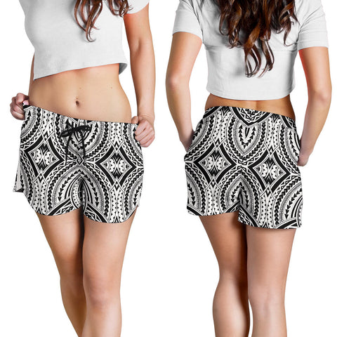 Image of Polynesian All Over Print Women's Shorts 2