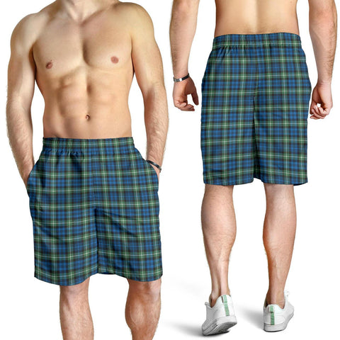 Lamont Ancient Tartan Shorts For Men TH8