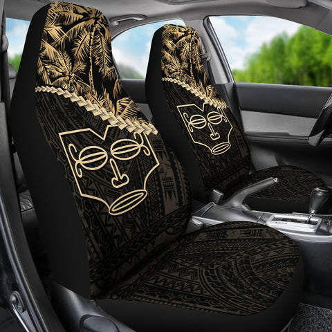 Marquesas Islands Car Seat Covers Golden Coconut | Love The World
