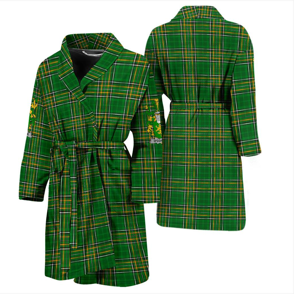 Connor or O'Connor (Kerry) Ireland Men's Bath Robe Irish National Tartan | Over 1400 Crests | Clothing | Apparel