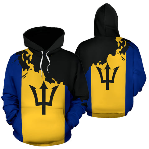 Barbados Painting Hoodie - Unique Style