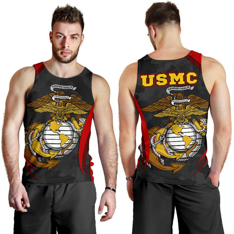 US Marine Corps Men's Tank Top - US Marine Corps Spirit